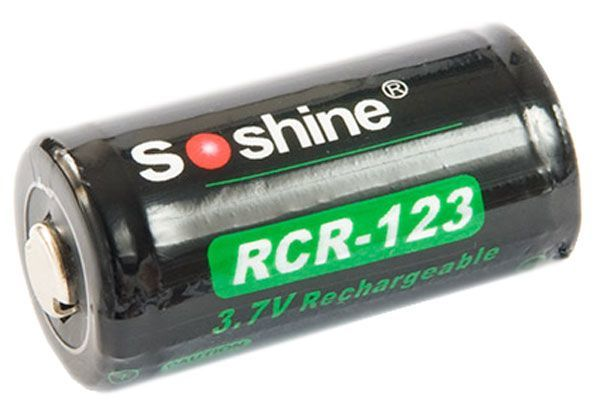 аккумулятор Soshine Li-ion RCR123 700mAh