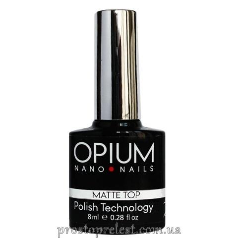 Opium Matte Top - Матовый топ с липким слоем