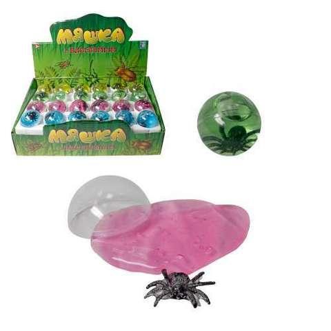 Мяшка, фигурка насекомое, шар, 25гр