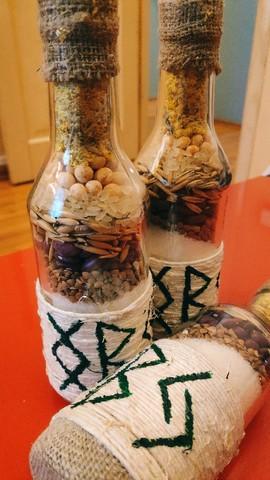 Ведьмина Бутылка для земли