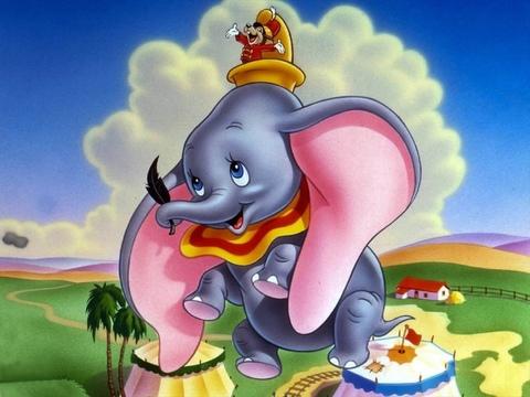 Алмазная Мозаика 20x30 Слон который научился летать (арт. MTCH8238)