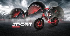 Беговел Small Rider Roadster Sport 4 EVA красный