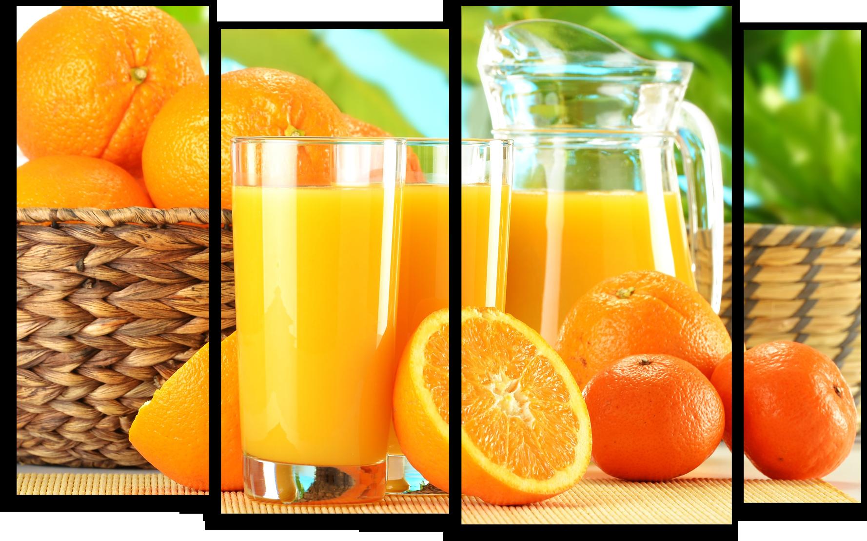 """Еда Модульная картина """"Апельсиновый сок"""" М613__1_.png"""
