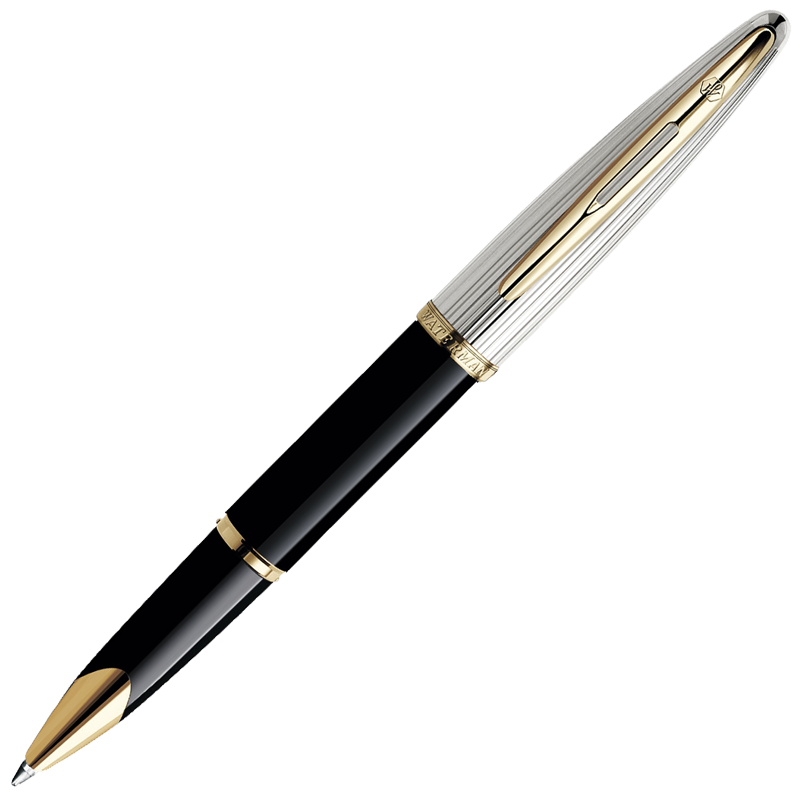 Waterman Carene - Deluxe Black GT, ручка-роллер, F, BL