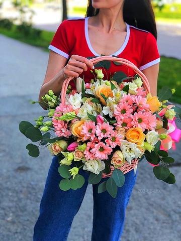 Цветы в корзине #16968