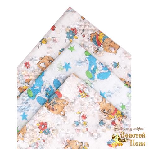 Пеленка ситец новорожденным (80х110) 201029-А8005