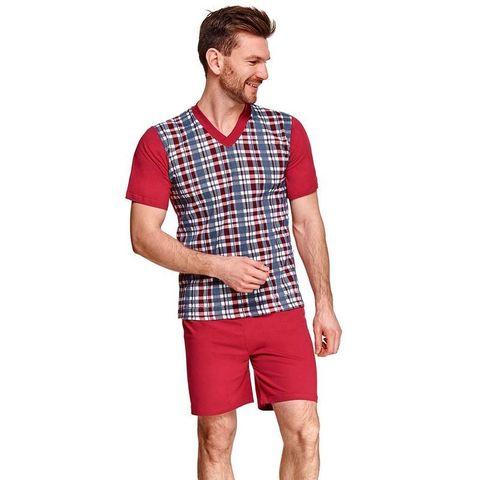 Комплект мужской одежды для дома Roman красный