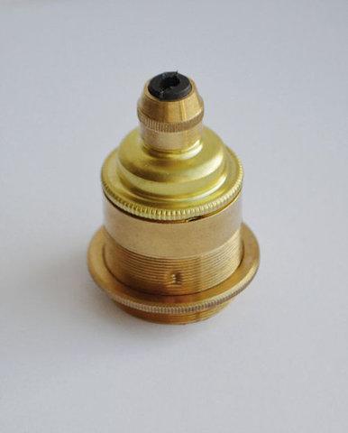Латунный ретро патрон 76/ET (Золото)