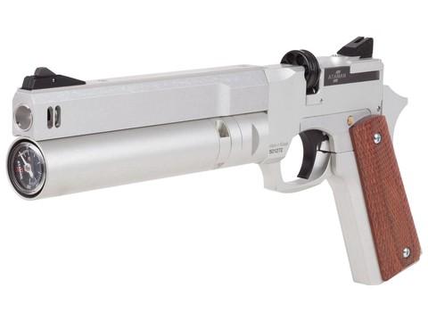 Пневматический пистолет Ataman АР16 Silver стандарт 4,5 мм