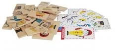 Логическая игра Профессии, Краснокамская игрушка