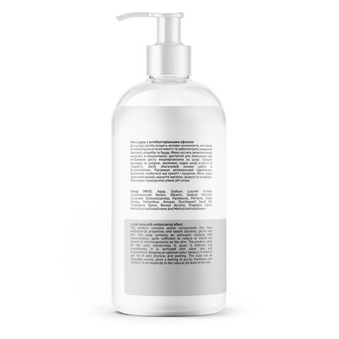 Рідке мило з антибактеріальним ефектом Іони срібла-Д-пантенол Touch Protect 500 мл (2)