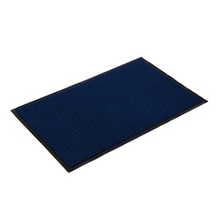 Коврик влаговпитывающий, ребристый, синий, 50*80 см