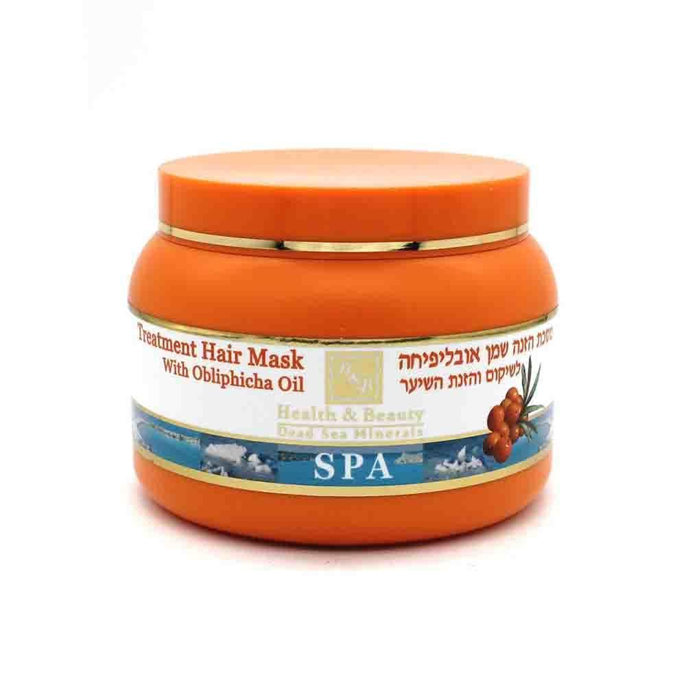 Маска для сухих волос с маслом Облепихи