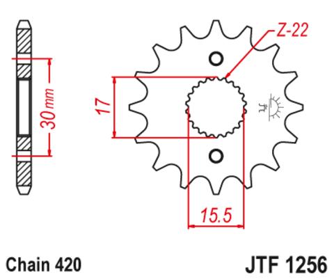 JTF1256