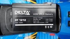 Аккумулятор DELTA 12V 12Ah