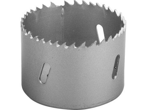 ЗУБР 57мм, коронка биметаллическая, быстрорежущая сталь