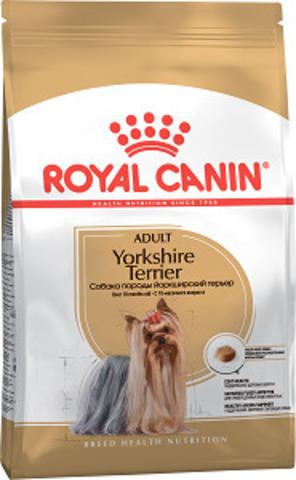 Royal Canin Yorkshire Terrier Adult сухой корм для йоркширских терьеров старше 10 месяцев
