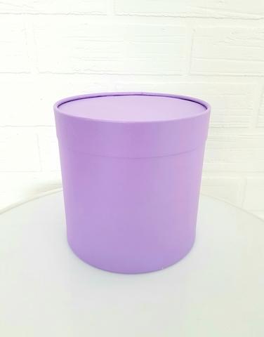 Коробка для цветов (цвет аметист)