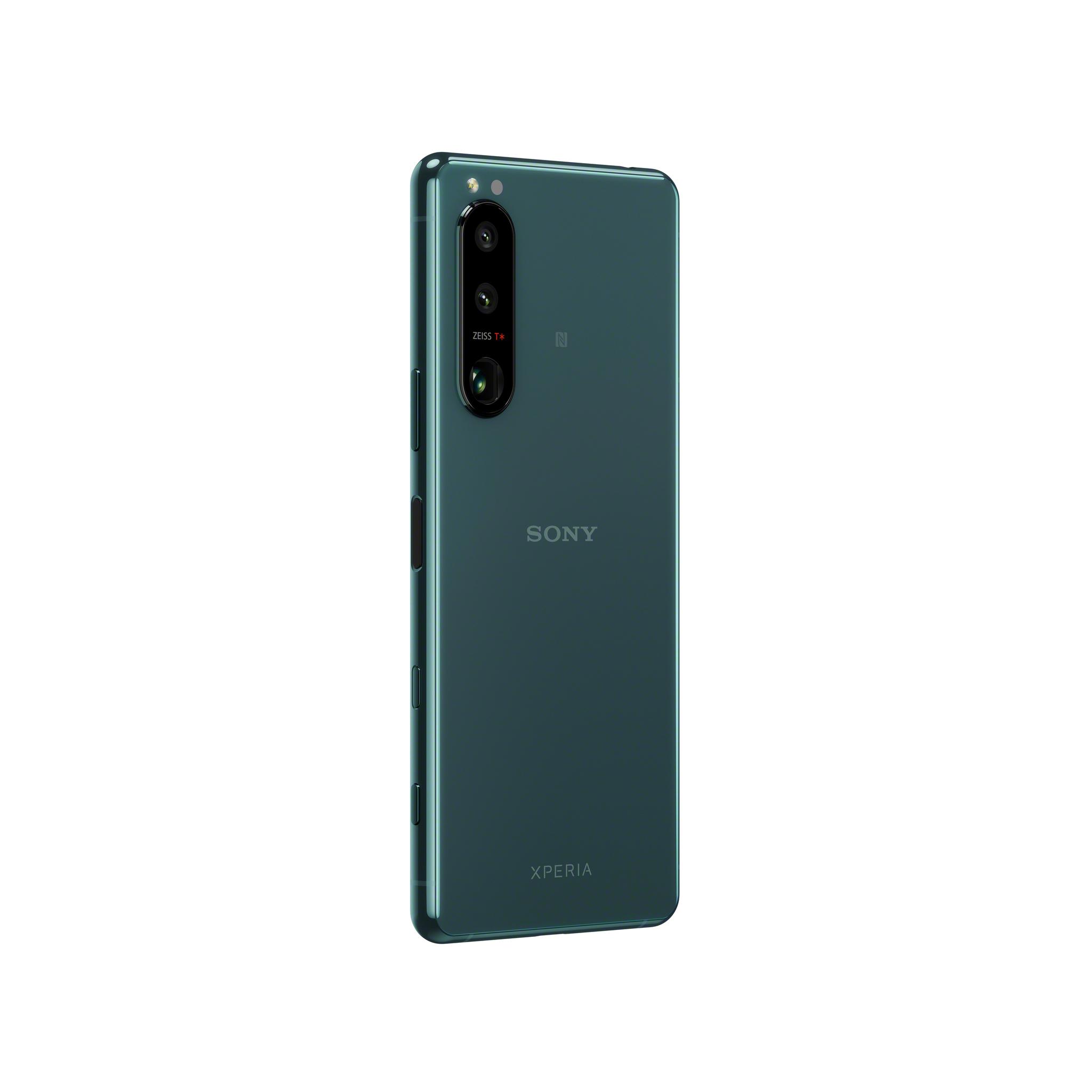 Смартфон Xperia 5 III красивого зелёного цвета в Sony Centre