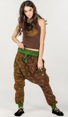 Широкие тайские штаны Рамнагар