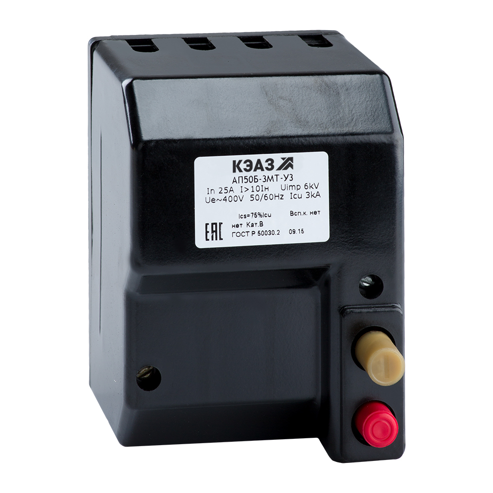 Выключатель автоматический АП50Б-3МТ-40А-10Iн-400AC-У3-КЭАЗ
