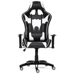 Кресло офисное iBat — черный/белый