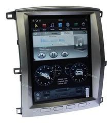 Штатная магнитола  Toyota Land Cruiser  100 2003-2007 стиль Tesla Android 9.0 4/32GB IPS DSP модель CB3205PX6