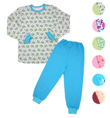 37259 пижама детская утепленная, ассортимент
