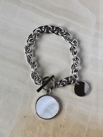 Браслет Богена, серебряный цвет