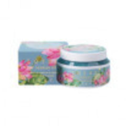 Jigott Крем для лица для увлажнения кожи с экстрактом лотоса - LOTUS FLOWER MOISTURE CREAM