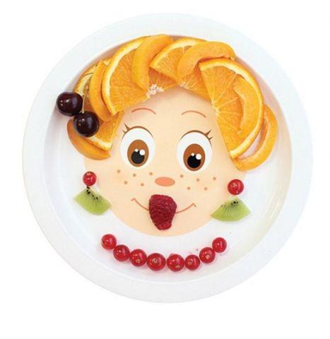 Детская тарелка «Фантазёр'КА», диаметр 21 см, объём 260 мл
