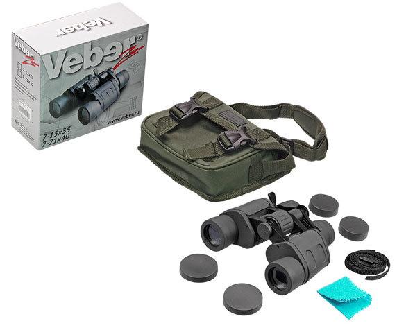 Бинокль Veber БПЦ zoom 7-15x35 - фото 4