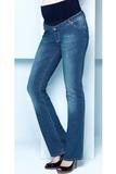 Джинсы для беременных (BOOT CUT) 02682 синий