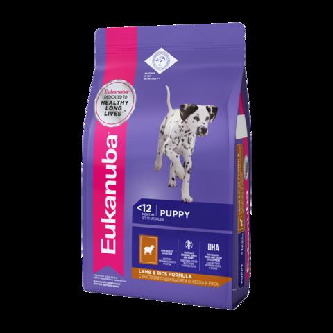 Eukanuba Puppy All Breed Lamb & Rice Сухой корм для щенков всех пород с ягненком