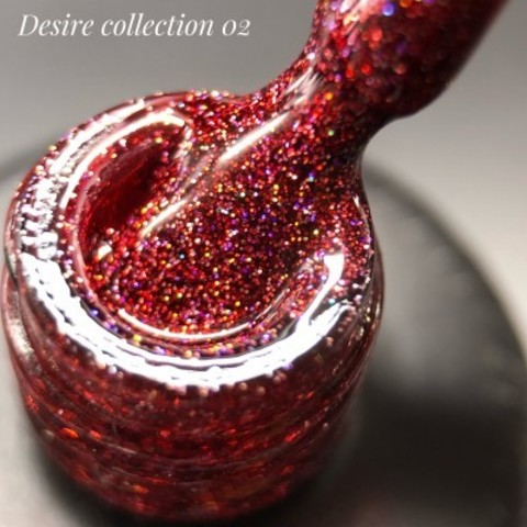 Гель лак DESIRE collection 02, 12 мл