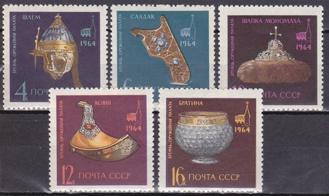 1964 №3060-4 **MNH