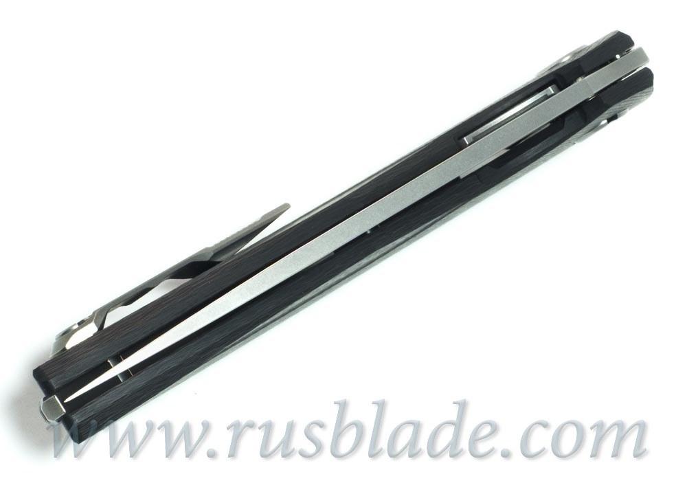 Shirogorov 111 M390 CF 3D groove MRBS - фотография