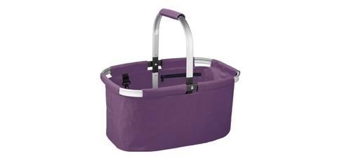 Корзина для покупок складная SHOP, фиолетовый