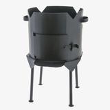 Печь под казан 12 литров сталь 3 мм