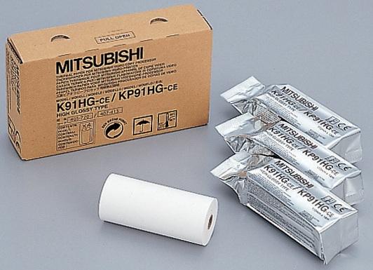 Mitsubishi K91HG, бумага УЗИ для видеопринтеров (Япония)