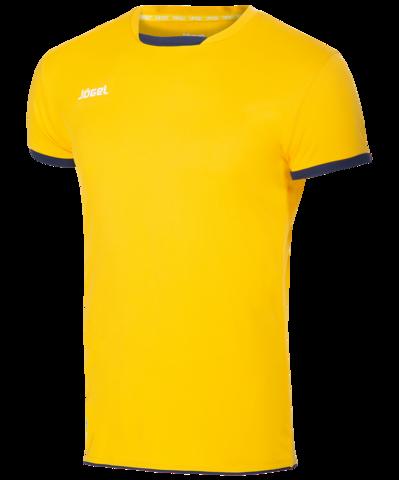 Футболка волейбольная JVT-1030-049 желтый/темно-синий, детская