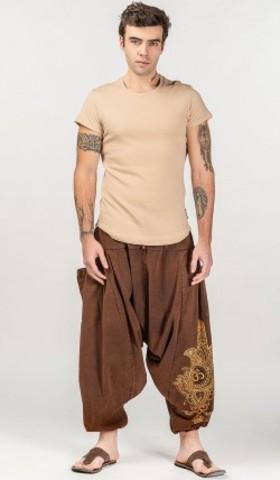 Штаны мужские тайские Чанакья для йоги