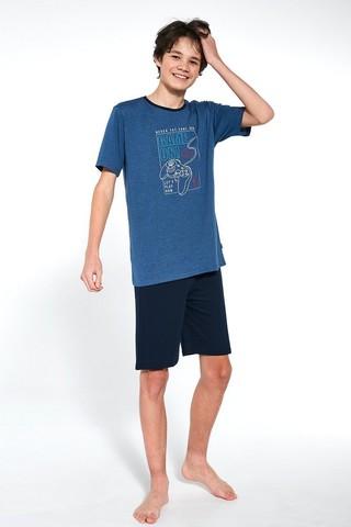 Пижама подростковая с шортами для мальчиков CORNETTE 519 GAME ON