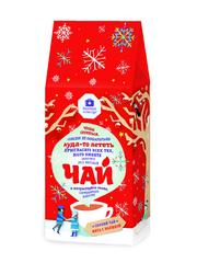 Черный чай «Зимняя Малина с мятой»  50 гр