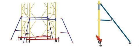 Комплект стабилизаторов для Вышки тура ВСП