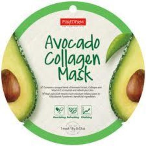 PUREDERM Avocado Nourishing Mask (12ea)