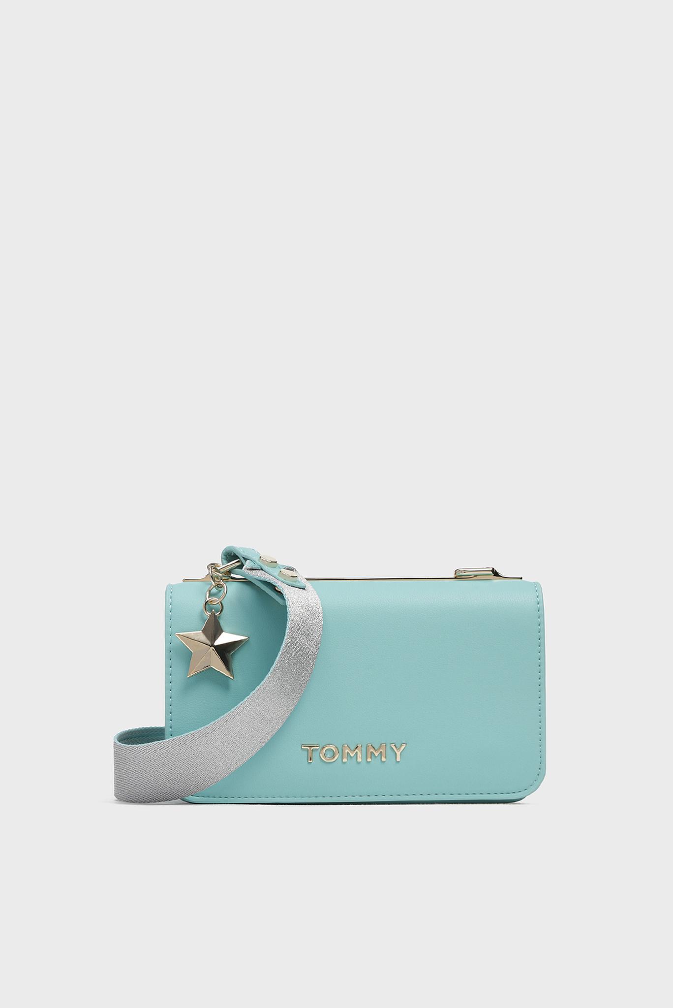 Женская мятная сумка через плечо STATEMENT Tommy Hilfiger