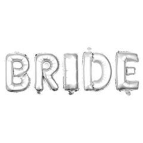 Г Надпись BRIDE (Невеста) 26
