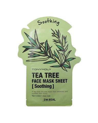 TONY MOLY Маска тканевая с экстрактом чайного дерева I'm Tea Tree Msak Sheet Skin Soothing