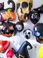 Воздушные шарики на хеллоуин